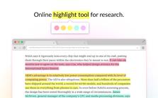 Weava Highlighter插件,网页和PDF高亮文本笔记注释工具