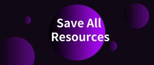 Save All Resources插件,Web开发插件,一键下载网页所有资源文件