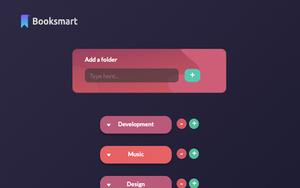 Booksmart插件,浏览器书签文件夹管理