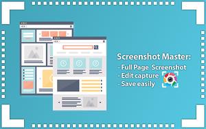 屏幕截图大师,免费易用的网页截图+编辑工具