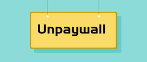 Unpaywall,学术文献检索插件,支持免费阅读和下载