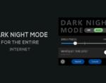 Dark Night Mode插件,谷歌浏览器夜间模式