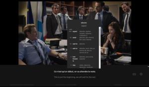 Language Learning with Netflix插件,看Netflix影片时,附带外语学习/记录功能