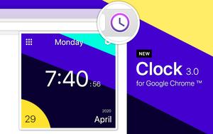 时钟 for Google Chrome插件,世界时钟日历工具