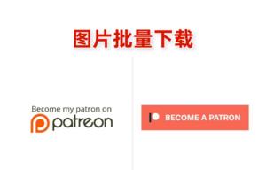 Patreon Downloader插件,批量下载网站图片