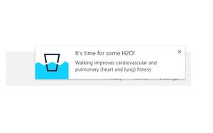 Water Walk插件,谷歌浏览器喝水提醒通知工具