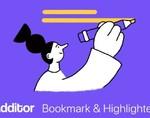 Additor插件,简洁实用的书签和荧光笔(文本高亮)工具