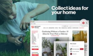 Pinterest Save Button,Chrome图片保存插件,收藏图片至Pinterest