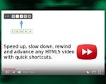 Video Speed Controller插件,HTML5视频倍速播放工具