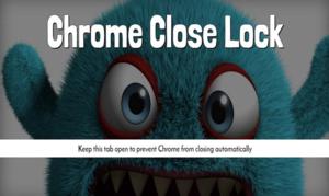Chrome Close Lock插件,在关闭多个标签页时显示提醒,避免意外关闭Chrome窗口