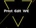 Print Edit WE插件,编辑\隐藏\删除网页元素,并支持保存和打印新页面