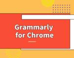 Grammarly插件,英文语法单词自动校验工具