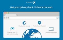 anonymoX插件,切换IP地址,匿名访问网页