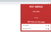 PDF Merge-Download and View插件,PDF合并工具,支持下载查看