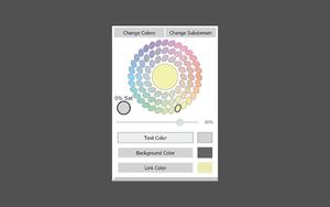 Color Changer插件,谷歌浏览器夜间模式,网站颜色自定义更改工具