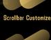 Scrollbar Customizer插件,改变Chrome滚动条形状颜色,隐藏滚动条