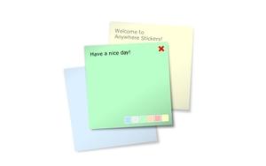 Anywhere stickers插件,在任意网页粘贴便签/笔记/备忘录