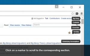 Scrollbar of Contents插件,在滚动条上查看网页标题