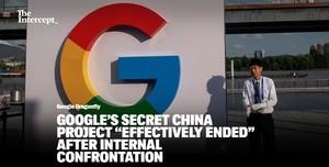 """谷歌搜索中国版遭""""滑铁卢"""",CEO承认蜻蜓计划凉凉"""