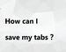 SaveMyTabs插件:一键收藏/复制所有标签页的效率工具