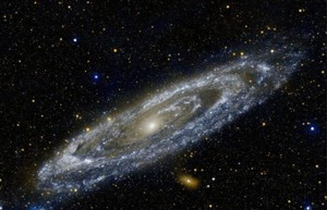 100000 stars网站:有关银河系10万颗星星的漫游指南