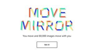 谷歌AI魔镜Move Mirror,根据动作反向搜图