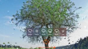 Rainyscope,一个能看雨又能听歌的视听网站