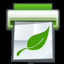 Save the trees (print & screenshot) - LOGO