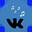 Vk Music quick access - LOGO