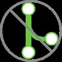 Remove Merge Button on GitHub - LOGO