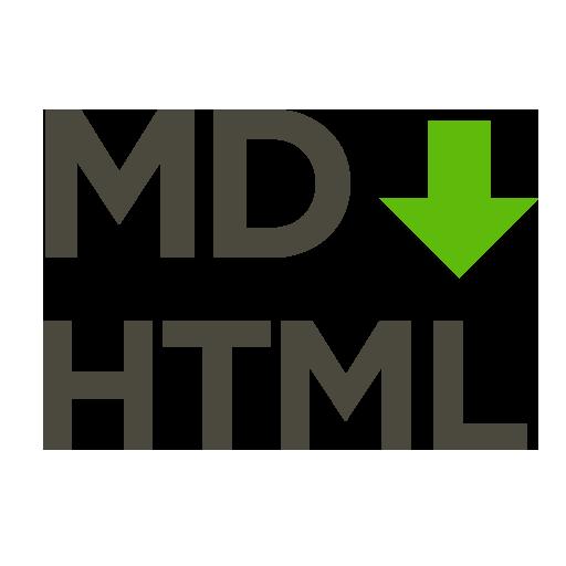 Markdown to HTML - LOGO