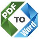 PDF to Word Unlimited Credits - LOGO