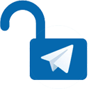 Telegram unblock - LOGO